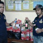 Polisi Sita 83 Botol Miras Disejumlah Cafe