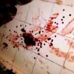 Diduga Darah Maling Berceceran di Kantor Lurah Penatoi