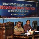 KPK Beri Arahan Upaya Pemberantasan Korupsi Terintegrasi di Pemkot Bima