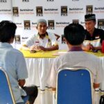 H. Arahman dan HM Lutfi Ambil Formulis Pendaftaran di PKS