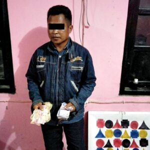 Judi Bola, Pemuda Nungga Dibekuk Polisi