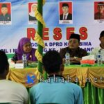 Dewan Dapil Asakota Serap Aspirasi di Jatibaru dan Melayu