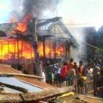 Arus Pendek Listrik, Rumah Warga Sape Terbakar