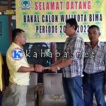 Bakal Calon Walikota Bima H. Sutarman Mendaftar di Partai Golkar