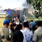 Krisis Air Bersih, Warga Rade Demo Kantor Camat Madapangga