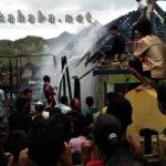 2 Rumah di Desa Raba Wawo Ludes Terbakar