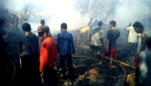 Kebakaran Lagi, Rumah Warga Penanae Rata dengan Tanah