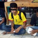 Baru Keluar Bui, Tiga Pemuda Kembali Diringkus Depan Rutan