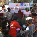 PKPU Distribusi Air Bersih di 9 Titik Kekeringan