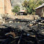 Rumah Warga Cenggu Terbakar
