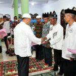 Wawali Bima Serahkan Bantuan Masjid dan Musholla di Nungga