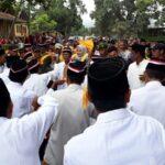 Aspal Jalan Tuntas, Warga Desa Nggelu Gelar Syukuran