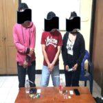 Diduga Pakai Narkoba, 2 Pria dan 1 Wanita Dibekuk