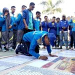 PKKMB Usai, STIE Bima Lanjut Deklarasi Hidup Sehat Tanpa Narkoba