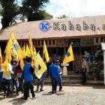 Hari Tani, PMII Demo Dinas Pertanian Kota Bima