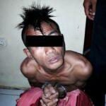 Maling Motor, Pemuda Ini Babak Belur Dihajar