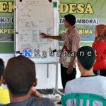 Lewat Sekolah Desa, Lakpesdam Gali Potensi Tambora