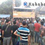 Pemain Baku Hantam, Pertandingan Kananga Jaya FC VS Ndano FC Dihentikan