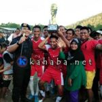 Drama Adu Pinalti Final Brimob Cup, Galaxy FC Tundukan Casanova United