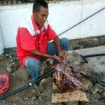 Penggalian di Jalan Soekarno Hatta, Jaringan Tembaga Putus, Telkom Minta Maaf