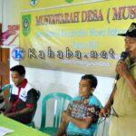 Tahun 2017, Desa Riamau Prioritas Program Infrastruktur
