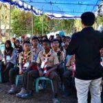 KPU Sosialisasi untuk Pemilih Pemula di Kemah Bhakti Pramuka Pelajar