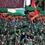 HUT TNI ke-72 Tingkat Bima Digelar dengan Meriah