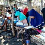 Komunitas Doro Sangiang Inisiasi Gerakan Literasi Sarangge Pasir