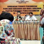 Panwaslu Kabupaten Bima Bimtek Pengawasan Tahapan Pemilihan Gubernur dan Wakil Gubernur