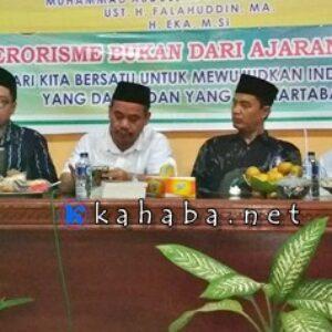 Maarif Institute Diskusi Buku Jihad, Khilafah dan Terorisme di Bima