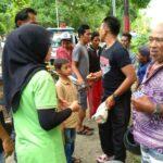Tabrak Lari di Taman Ria, 2 Pengandara Terluka