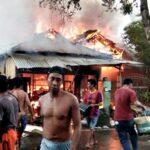 Kebakaran, Rumah Pedagang Bensin ini Ludes