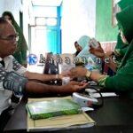Dinas Kominfo dan PKM Mpunda Gelar Senam Sehat dan Pemeriksaan Kesehatan