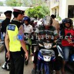 1.211 Kendaraan Ditilang, Pengendara Belum Juga Sadar