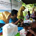 PLN Gelar Kegiatan Pemeriksaan Kesehatan Gratis di Desa Pekat