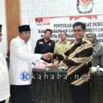Sudirman-Syafiuddin, Serahkan13.076 Syarat Dukungan Perseorangan