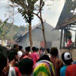 5 Rumah di Desa Sari Terbakar, Balita Alami Luka Bakar