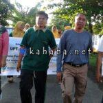 Meriahkan HKN ke-53, PKM Penanae Gelar Jalan Sehat