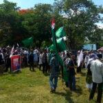 Umat di Kota Bima Aksi Kutuk Israel