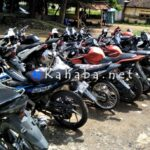 17 Motor Bodong Dari Jakarta Diamankan