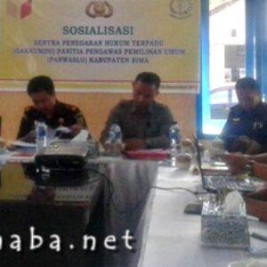 Satukan Pemahaman, Gakkumdu Kabupaten Bima Gelar Sosialisasi