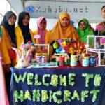 Mahasiswa STKIP Bima Pamerkan Aneka Kerajinan dari Barang Bekas