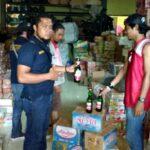 Cegah Pesta Miras, Polres Bima Kota Amankan Ratusan Botol Miras
