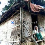 Tinggal di Rumah Reot, Nenek Asal Desa Tumpu ini Hidup Sebatang Kara