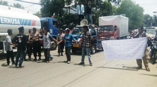 Lagi, Sejumlah OKP Bergerak Demo Tolak Alfamart di Bolo