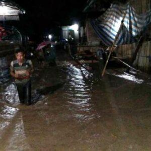 Sungai Meluap, Sejumlah Desa di Belo Diterjang Banjir