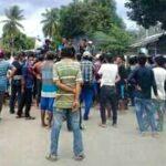 Pemuda dan Petani Lambu Demo Soal Pupuk