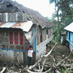 Angin Puting Beliung Hantam Wilayah Donggo, Rumah Warga Rusak