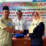 Akbid Surya Mandiri Bima Lepas 41 Mahasiswi PKL di Kelurahan Jatibaru