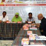KPU Rakor Persiapan Pendaftaran Calon Wawali dan Wakil Kota Bima